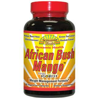 Dynamic Health African Bush Mango Weight Management Formula, 60ct