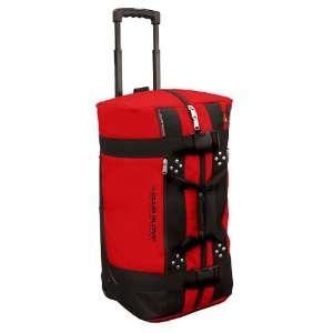 New Club Glove Mini Rolling Duffle Travel Bag Red Sports