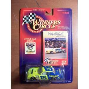 Dale Earnhardt Winners Circle #15 Wrangler Car Toys