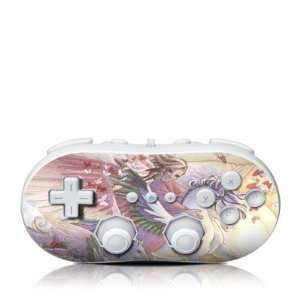 Butterfly Heart Design Skin Decal Sticker for the Wii