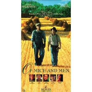 Of Mice & Men [VHS]: Alexis Arquette, Mark Boone Junior