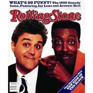 Rolling Stone Cover of Jay Leno & Arsenio Hall by Bonnie