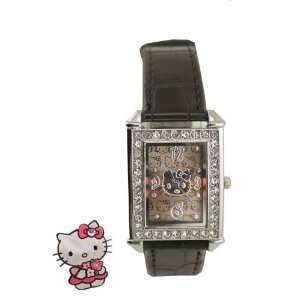 Sanrio Hello Kitty Crystal Diamond WristWatch Wrist Watch