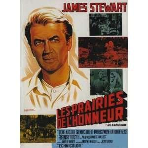 Movie French B 11 x 17 Inches   28cm x 44cm James Stewart Doug McClure