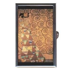 GUSTAV KLIMT EXPECTATION ART Coin, Mint or Pill Box Made