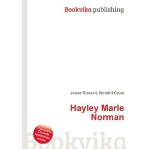 Hayley Marie Norman: Ronald Cohn Jesse Russell: Books