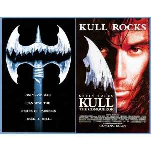 Kull the Conqueror / Kevin Sorbo Movie 2 Page Version Great Photo