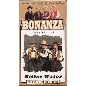 Vol. 5 Bitter Water [VHS] Lorne Greene, Michael Landon