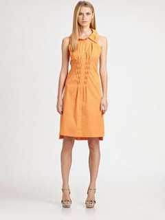 Elie Tahari   Ramsy Stretch Cotton Dress