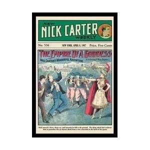 Nick Carter The Empire of a Goddess 20x30 poster