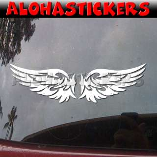 TRIBAL ANGEL WINGS Car Auto Boat Laptop Graphic Vinyl Decal Window