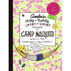 Lovey Dovey Summer at Camp Mosquito, Moss, Marissa Childrens Books