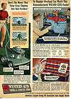 1952 Western Auto Wizard Mower Sealtuft Seat Covers Ad