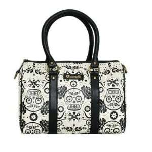 Loungefly Sugar Skull Satchel Purse Day of the Dead