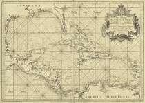 mapa maritimo del golfo de mexico e islas de la america para el uso de