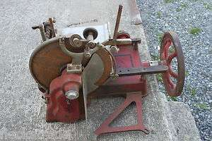 Berkel Royal Slicing Machine Hand Crank Meat Slicer RARE