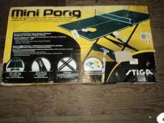 Stiga Stiga 54 Inch Mini Pong Table Tennis Table