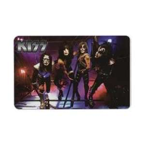 Collectible Phone Card KISS Rock & Roll Band   Group of 4