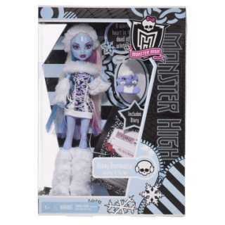 Monster High ABBEY BOMINABLE Doll & Pet Mammoth SHIVER **BRAND NEW