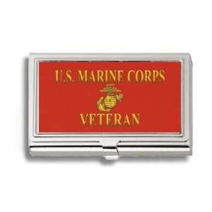 U.S. Marine Corps Veteran #2 USMC Business Card Holder