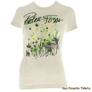 Licensed Peter Tosh Natural Dreams Women Junior Tee Shirt S XL
