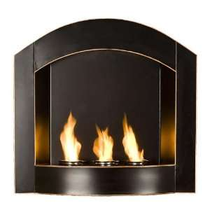 Wall Mount Indoor and Outdoor Gel Fuel Fireplace by