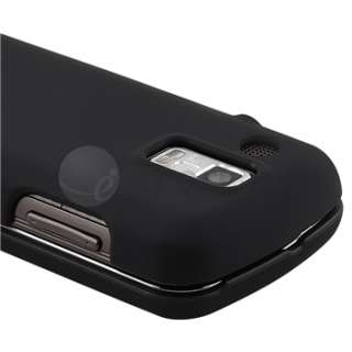 Hard Case Black+LCD Film Guard+Car Charger for Samsung U960 Rogue