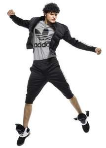 Adidas Jeremy Scott Gorilla Tracksuit Black JS Pants Jacket Track Top