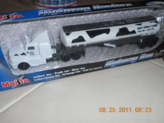 Milk DaIRY COW Semi Tractor Trailer Delivery Truck NIB