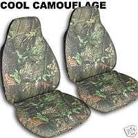 chevy SILVERADO CAR SEAT COVERS CAMO TREE DESIGN fr