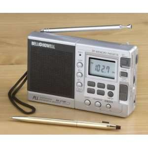 Bell & Howell® PLL World Receiver Radio