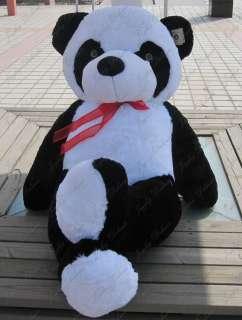 GIANT HUGE BIG 63 PANDA BEAR STUFFED PLUSH ANIMAL TOY
