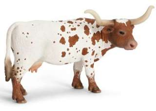 Texas Longhorn Cow Schleich toy figure NEW Farm Animal