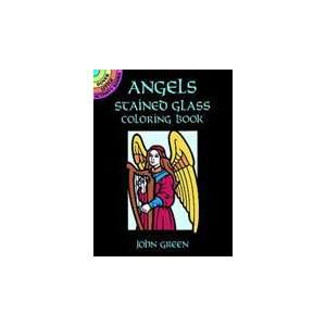 Dover Stained Glass Coloring Book Angels Arts, Crafts
