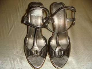 Franco Sarto Womens Wedge Sandal Used Good Sz 9