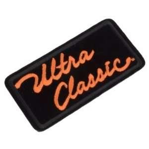 Emblem Patch   Ultra Classic   Harley Davidson Automotive